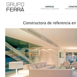 imagen destacada proyecto web Grupo Ferrá