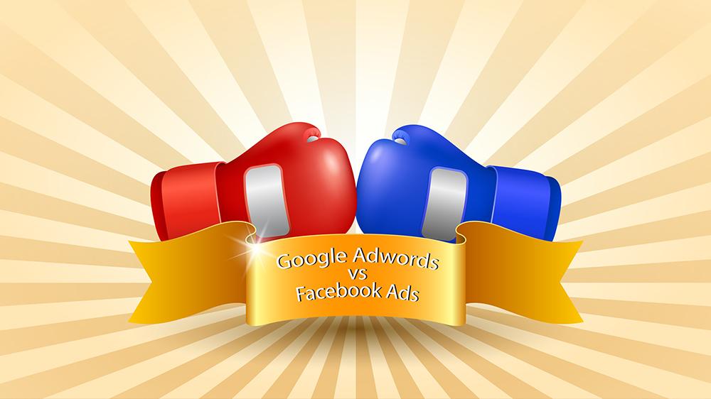 publicidad con google adwords o con facebook ads
